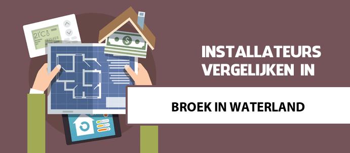 pelletkachel installateurs in broek-in-waterland